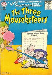 Cover Thumbnail for The Three Mouseketeers (DC, 1956 series) #4