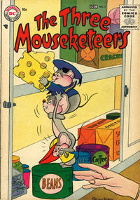 Cover Thumbnail for The Three Mouseketeers (DC, 1956 series) #5