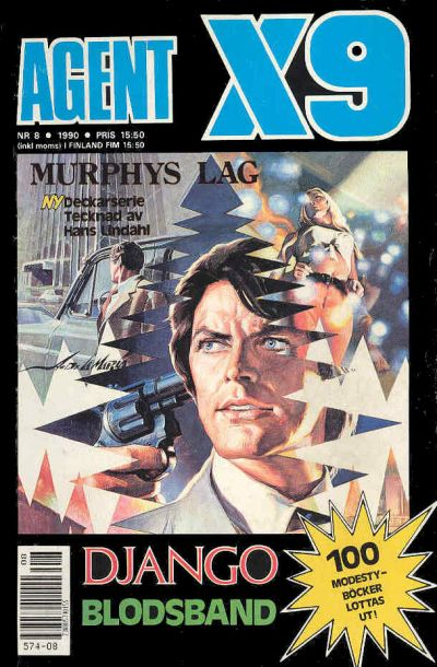Cover for Agent X9 (Semic, 1971 series) #8/1990