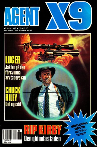 Cover for Agent X9 (Semic, 1971 series) #11/1990