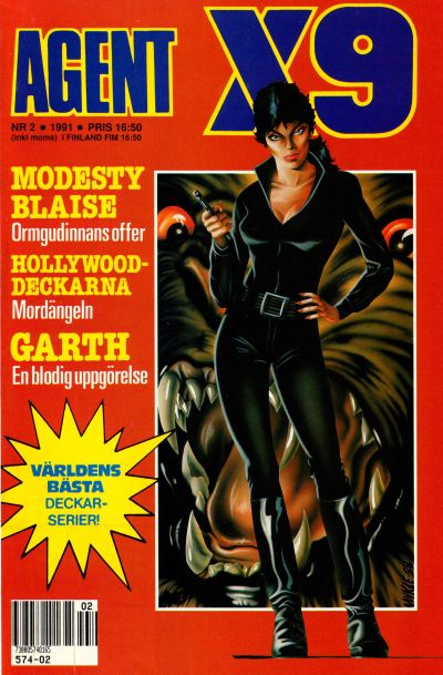 Cover for Agent X9 (Semic, 1971 series) #2/1991