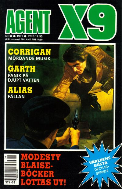 Cover for Agent X9 (Semic, 1971 series) #8/1991