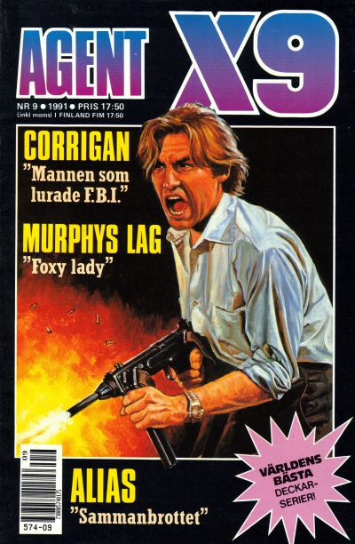 Cover for Agent X9 (Semic, 1971 series) #9/1991
