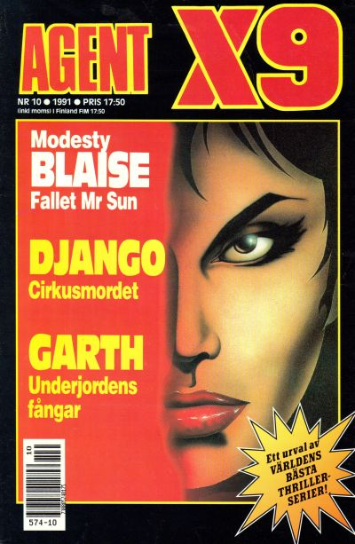 Cover for Agent X9 (Semic, 1971 series) #10/1991