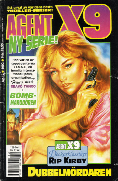 Cover for Agent X9 (Semic, 1971 series) #12/1992