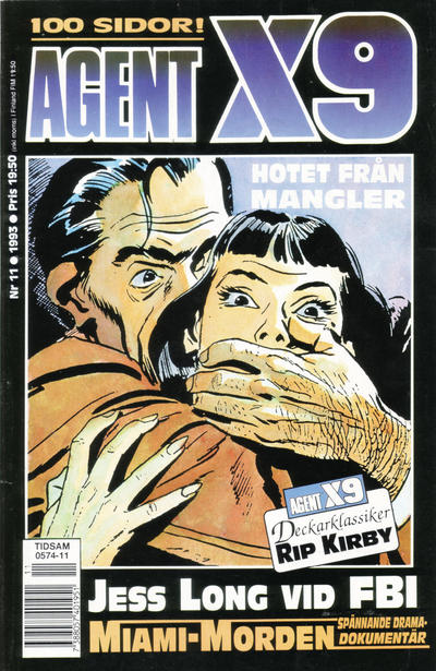 Cover for Agent X9 (Semic, 1971 series) #11/1993