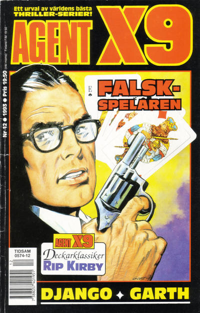 Cover for Agent X9 (Semic, 1971 series) #12/1993