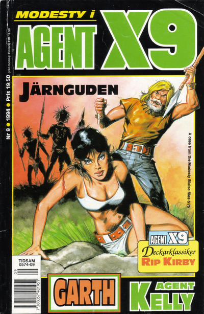 Cover for Agent X9 (Semic, 1971 series) #9/1994