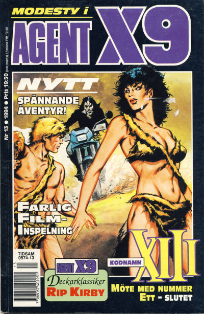 Cover for Agent X9 (Semic, 1971 series) #13/1994
