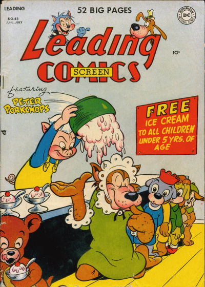 Cover for Leading Comics (DC, 1941 series) #43