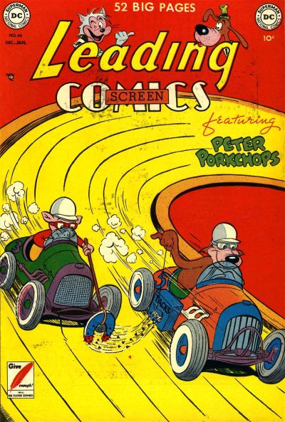 Cover for Leading Screen Comics (DC, 1950 series) #46