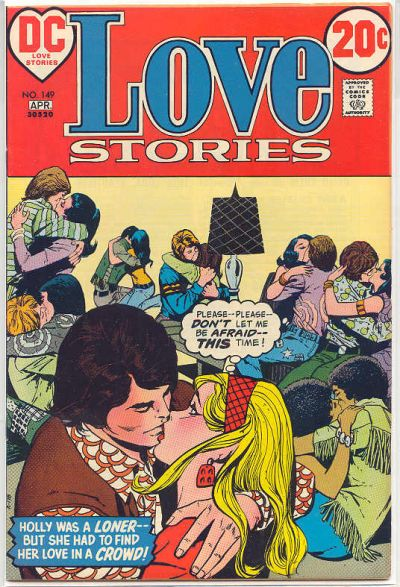 Cover for Love Stories (DC, 1972 series) #149