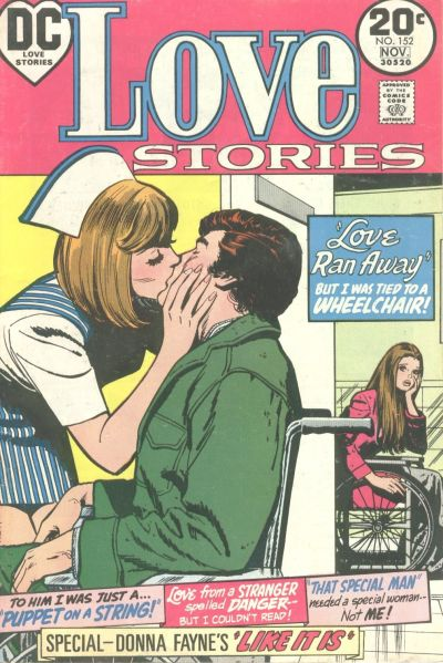 Cover for Love Stories (DC, 1972 series) #152