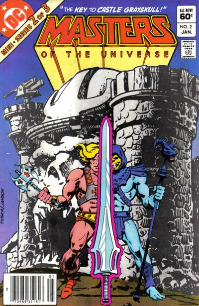 Cover for Masters of the Universe (DC, 1982 series) #2 [Direct]