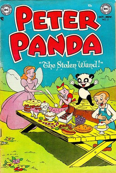 Cover for Peter Panda (DC, 1953 series) #2