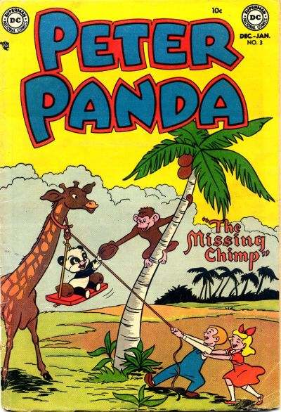 Cover for Peter Panda (DC, 1953 series) #3
