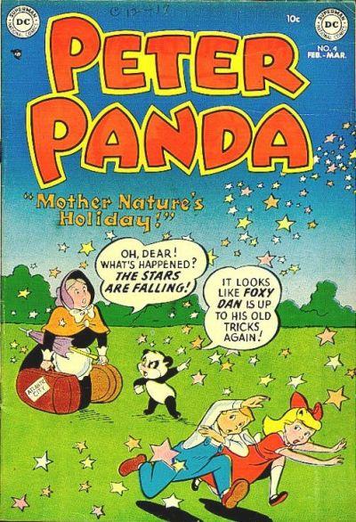 Cover for Peter Panda (DC, 1953 series) #4