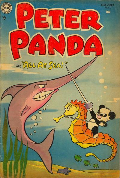 Cover for Peter Panda (DC, 1953 series) #7