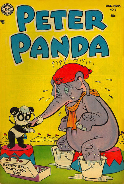 Cover for Peter Panda (DC, 1953 series) #8