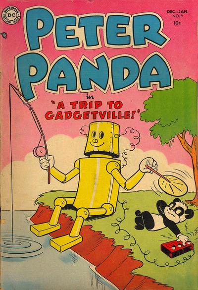 Cover for Peter Panda (DC, 1953 series) #9