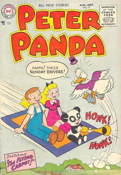 Cover for Peter Panda (DC, 1953 series) #13