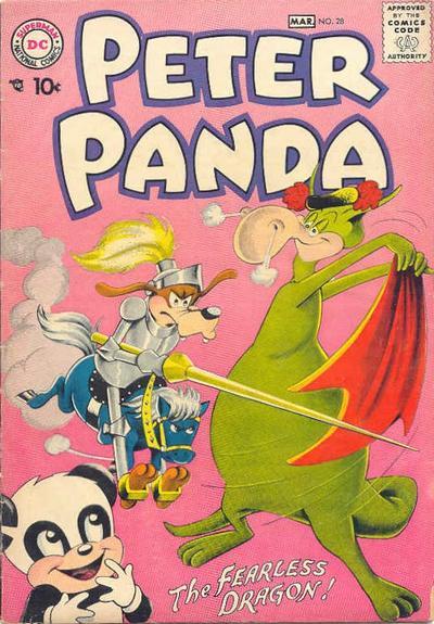 Cover for Peter Panda (DC, 1953 series) #28
