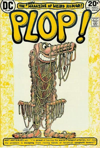 Cover for Plop! (DC, 1973 series) #2