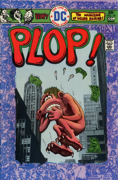 Cover for Plop! (DC, 1973 series) #18