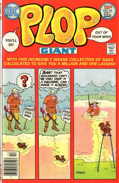 Cover for Plop! (DC, 1973 series) #24