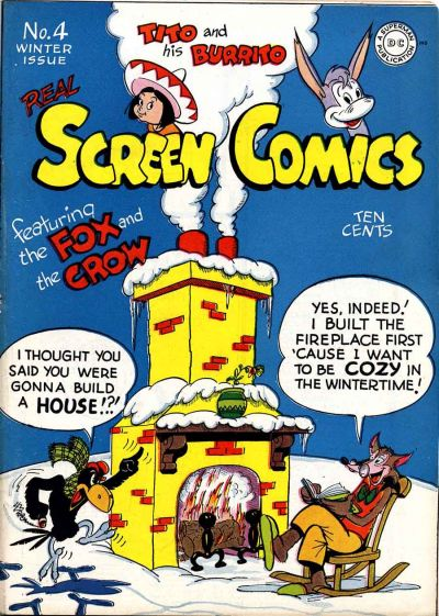 Cover for Real Screen Comics (DC, 1945 series) #4