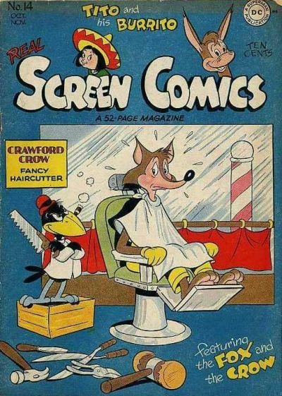 Cover for Real Screen Comics (DC, 1945 series) #14