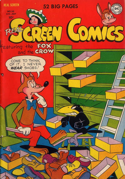 Cover for Real Screen Comics (DC, 1945 series) #30