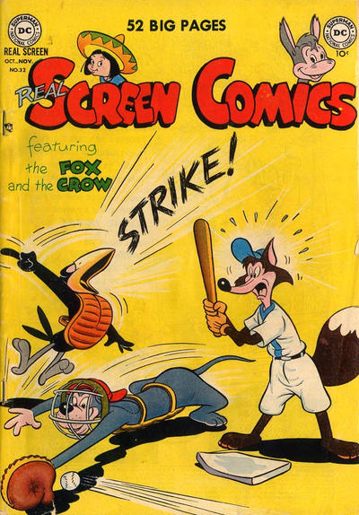 Cover for Real Screen Comics (DC, 1945 series) #32