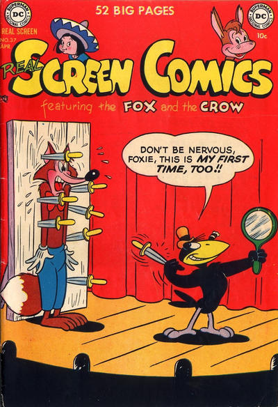 Cover for Real Screen Comics (DC, 1945 series) #37