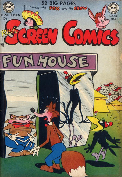 Cover for Real Screen Comics (DC, 1945 series) #38