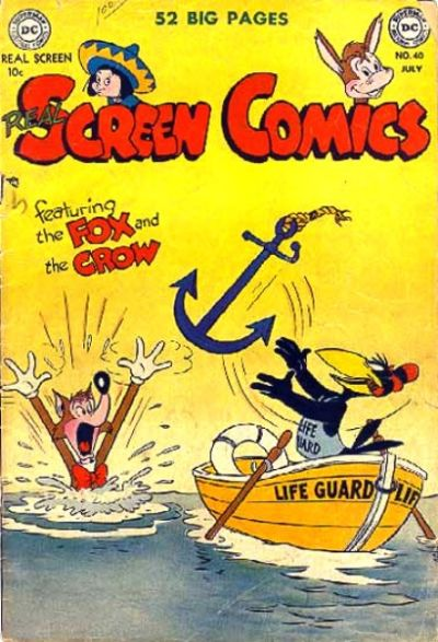 Cover for Real Screen Comics (DC, 1945 series) #40