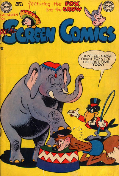 Cover for Real Screen Comics (DC, 1945 series) #44