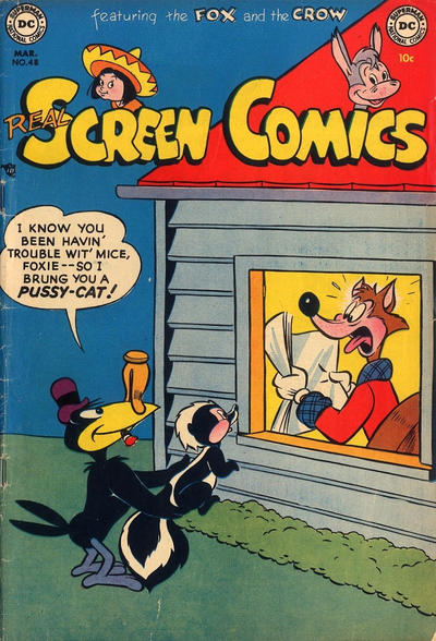 Cover for Real Screen Comics (DC, 1945 series) #48