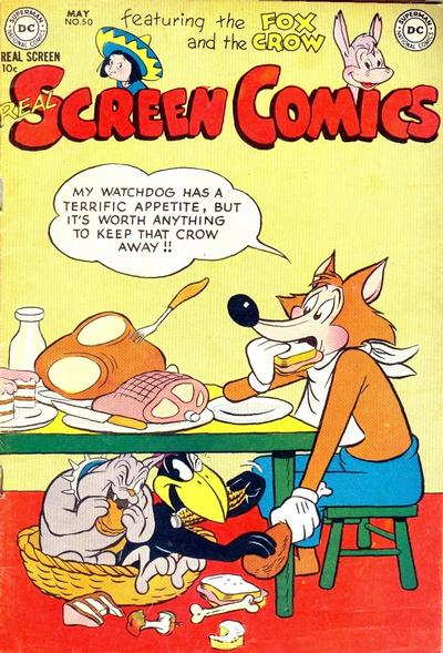 Cover for Real Screen Comics (DC, 1945 series) #50