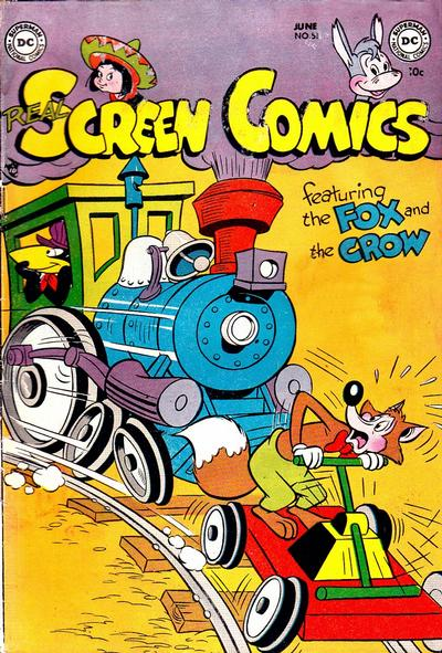 Cover for Real Screen Comics (DC, 1945 series) #51