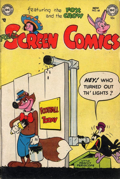 Cover for Real Screen Comics (DC, 1945 series) #68