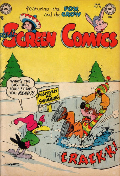 Cover for Real Screen Comics (DC, 1945 series) #70