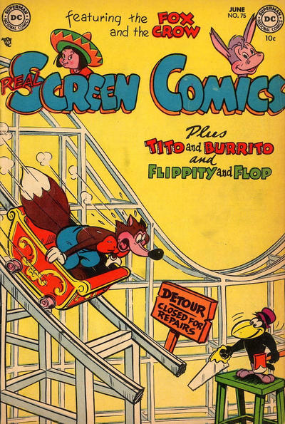 Cover for Real Screen Comics (DC, 1945 series) #75