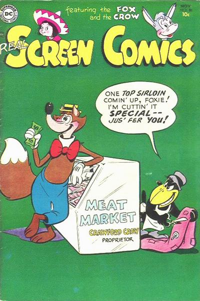 Cover for Real Screen Comics (DC, 1945 series) #80