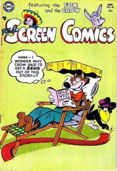 Cover for Real Screen Comics (DC, 1945 series) #82