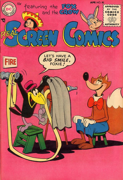 Cover for Real Screen Comics (DC, 1945 series) #85