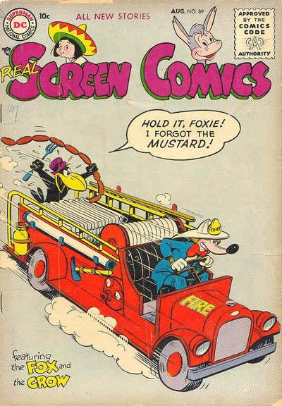 Cover for Real Screen Comics (DC, 1945 series) #89