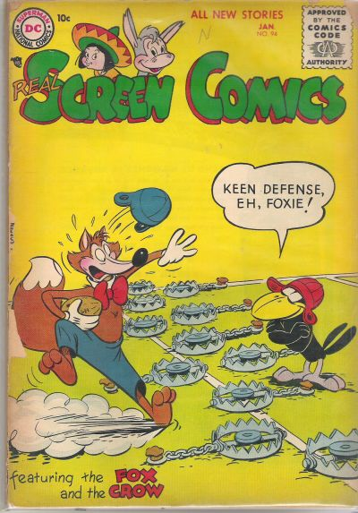 Cover for Real Screen Comics (DC, 1945 series) #94