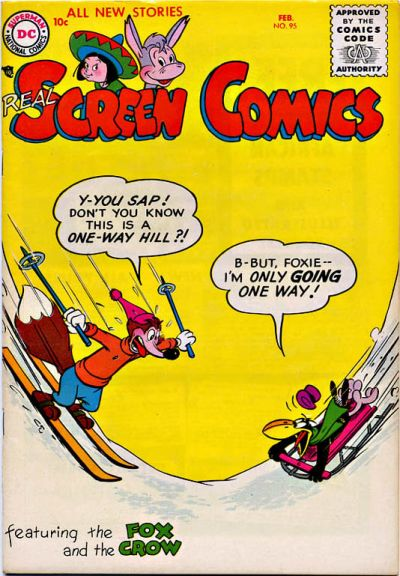 Cover for Real Screen Comics (DC, 1945 series) #95