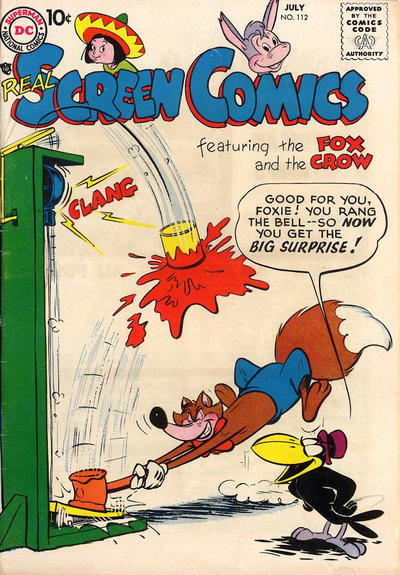 Cover for Real Screen Comics (DC, 1945 series) #112